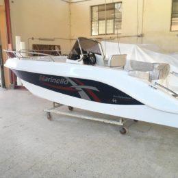 barca open pesca laguna di venezia