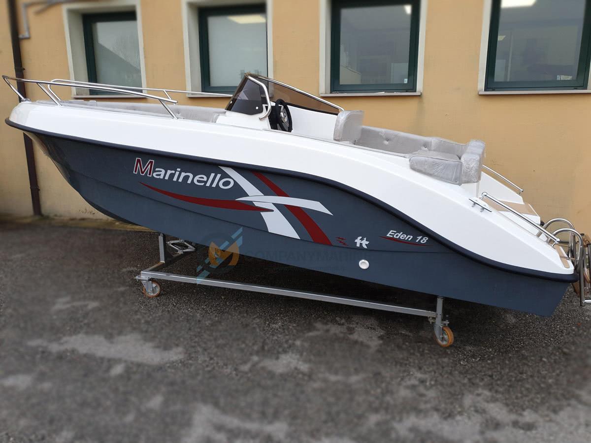 Barca Open Marinello 18 Eden Teak Edition 2