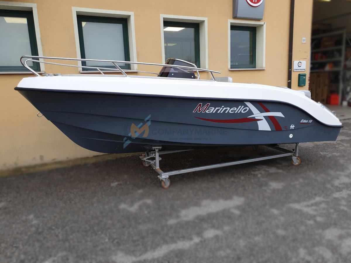 Barca Open Marinello 18 Eden Teak Edition 1