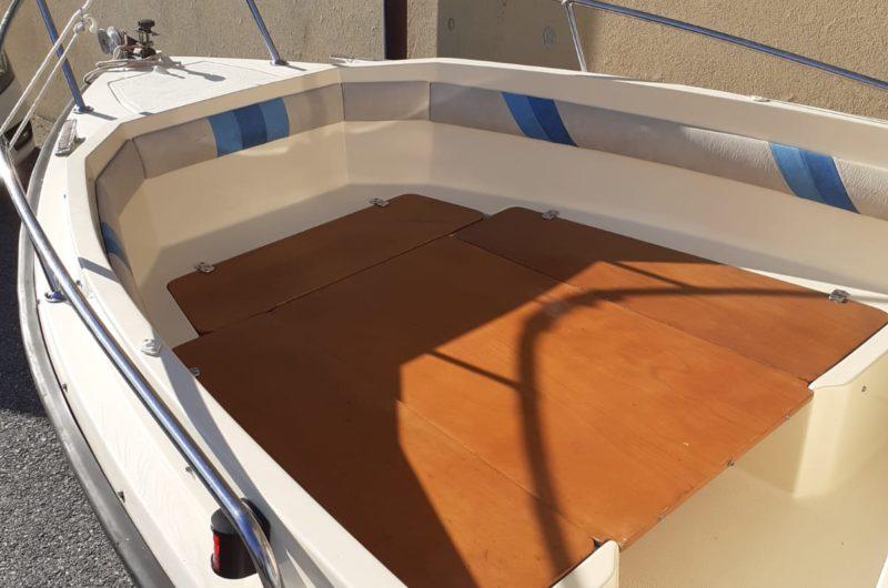 barca open usata senza patente