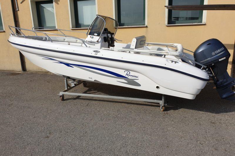 barca open senza patente ranieri
