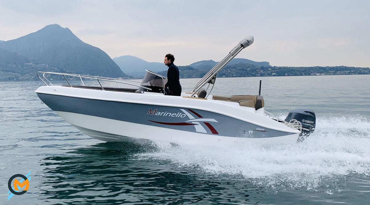 assetto barca corretto con trim fuoribordo