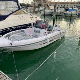 barca open usata senza patente ranieri 19 voyager