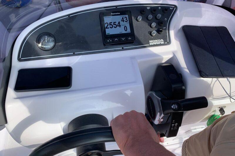 Foto Open Ranieri H19CC Voyager 4XC + Honda BF40E  guida senza patente - 6