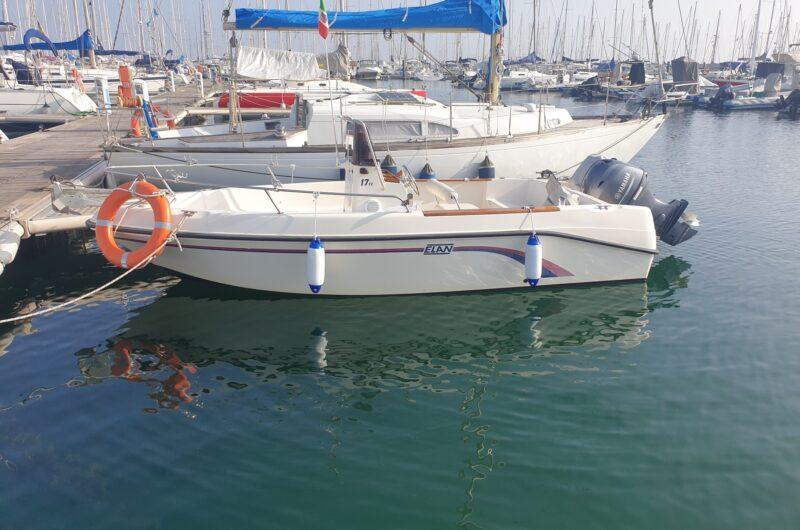 Foto Barca Usata Open Elan 17 + Yamaha F40 HETL 4 Tempi - 13