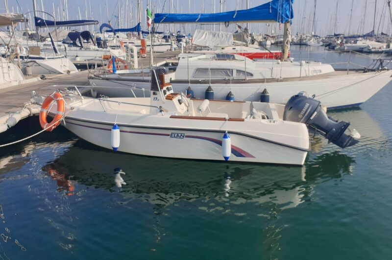 Foto Barca Usata Open Elan 17 + Yamaha F40 HETL 4 Tempi - 12