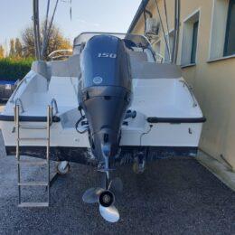 Foto Occasione Marinello 650 Cabin + Yamaha F150 4 tempi - 12