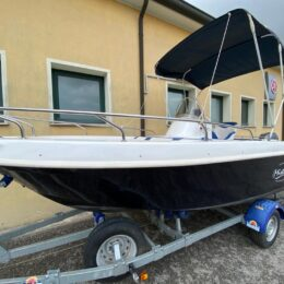 Foto Barca Open Mistral Sfera + Yamaha F40 DETL senza patente - 9