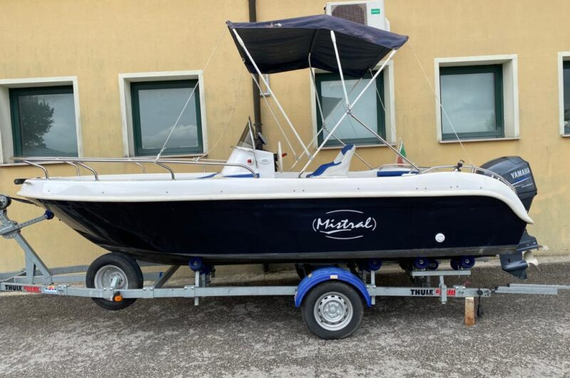 Foto Barca Open Mistral Sfera + Yamaha F40 DETL senza patente - 7
