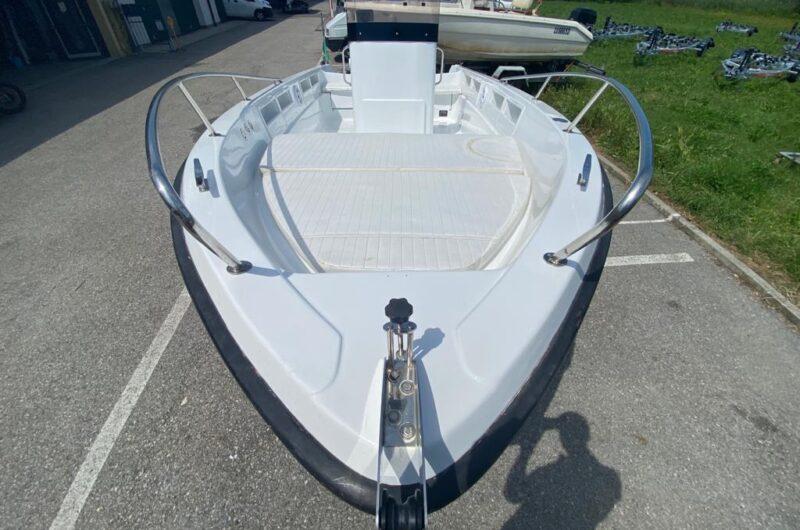 Foto Barca Baruffaldi Open Senza Patente + Yamaha F40 HETL NUOVO - 1