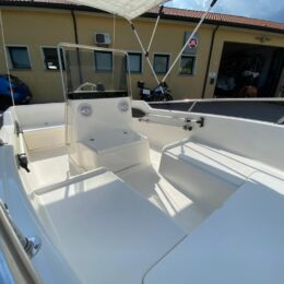 Foto Barca Open Usata Senza Patente Molinari - 1