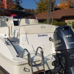 yamaha 40 70 senza patente barca