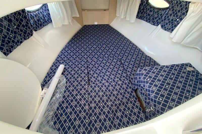 grande cabina di prua con wc