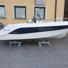 barca usata open senza patente