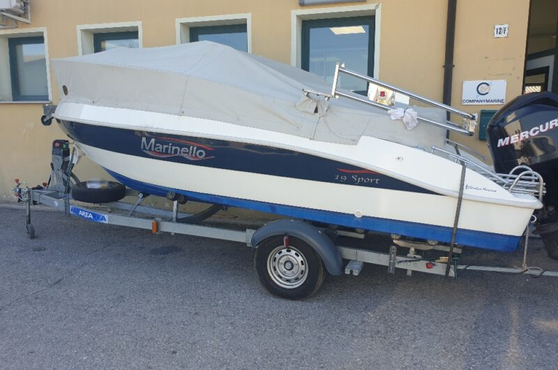 Foto Marinello 19 Sport Cabin Usato + Yamaha F40/70 SUPREME 16 V - 23