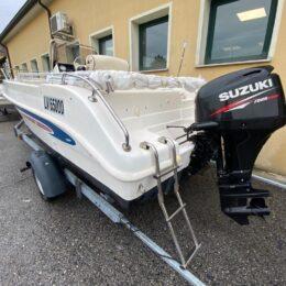Foto Barca Open Usata Selva 5.5 + Suzuki F40 4tempi Iniezione - 1
