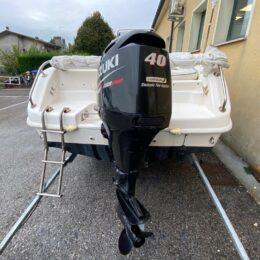 Foto Barca Open Usata Selva 5.5 + Suzuki F40 4tempi Iniezione - 3