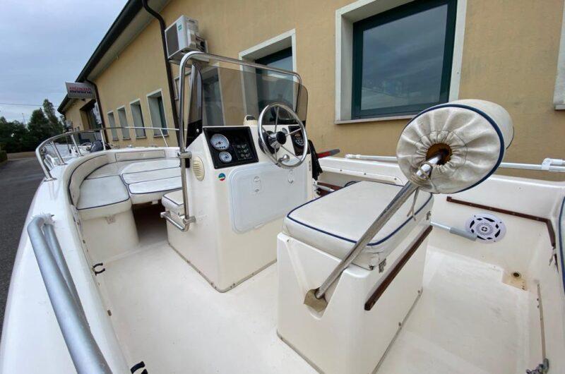 Foto Barca Open Usata Selva 5.5 + Suzuki F40 4tempi Iniezione - 5