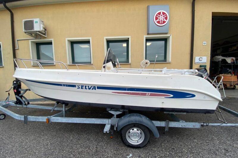 Foto Barca Open Usata Selva 5.5 + Suzuki F40 4tempi Iniezione - 6