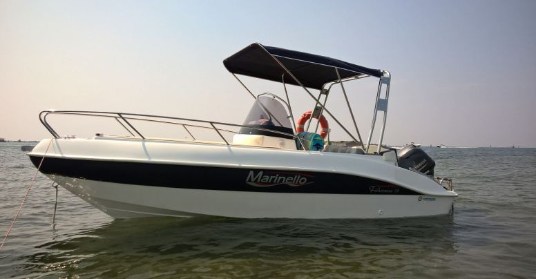 Marinello 19 Fisherman Open + Yamaha F40 HETL