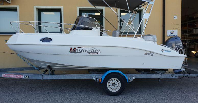 Marinello 19 Sport Cabin USATO + Yamaha F40 GETL 16 V USATO 2019