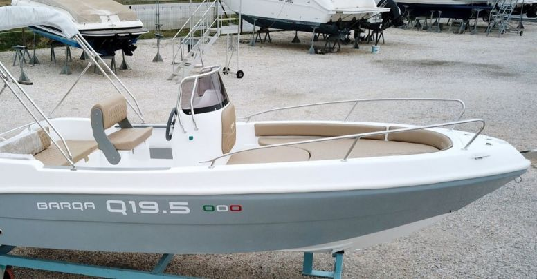 Barca Open Barqa Q19.5 + Yamaha F40 HETL Senza Patente