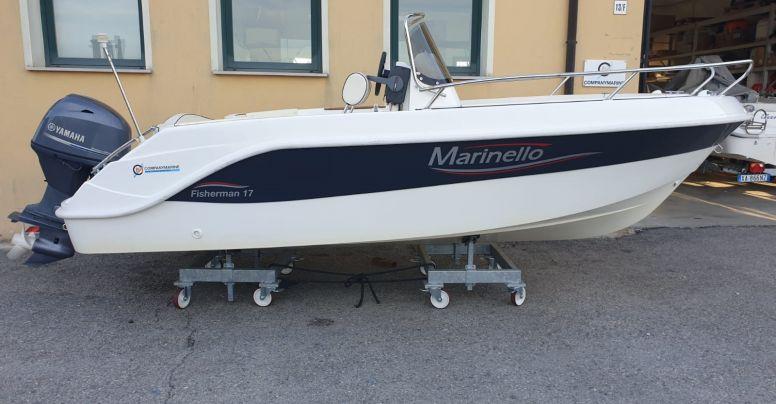 Open Usata Marinello 17 Fisherman + Yamaha F40 GETL Supreme