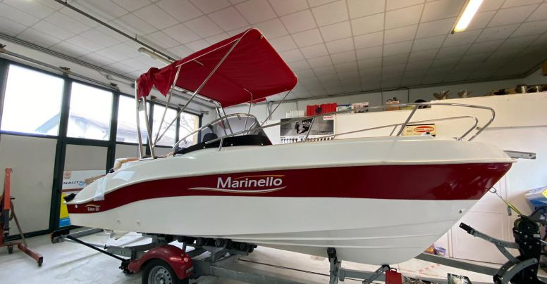 Occasione Barca open Marinello 20 Eden + Yamaha F 40 GETL SUPREME