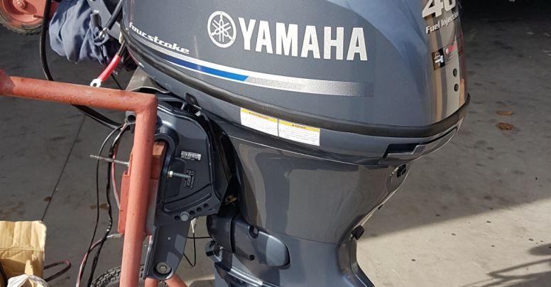 Motore Fuoribordo Usato Yamaha F40 FEHDS manetta