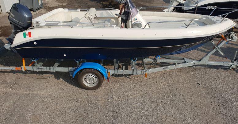 Barca Open Usata Gaia 530 + Mercury F 40 60 2014