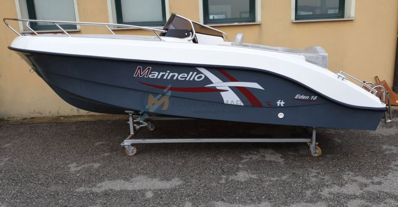 Marinello 18 Eden New Teak Edition + Yamaha F40 HETL