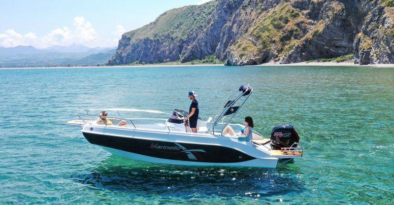 Marinello Eden 590 + Yamaha F115 BETL Iniezione 4 Tempi