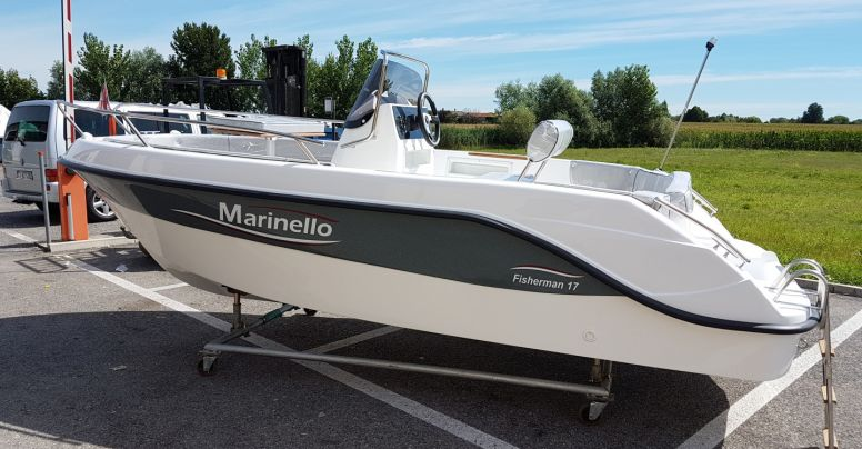 Marinello 17 Open Black Edition + Yamaha F40 HETL