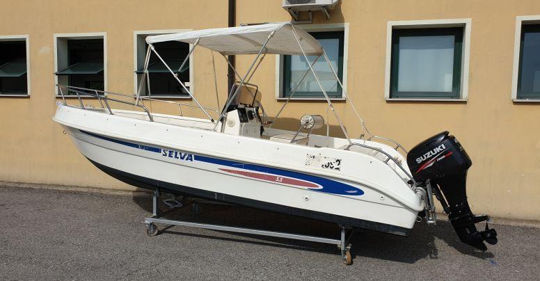 Barca usata Open Selva 5.5 + Suzuki F 40 Iniezione