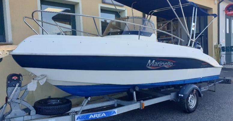 Marinello 19 Sport Cabin Usato + Yamaha F40/70 SUPREME 16 V