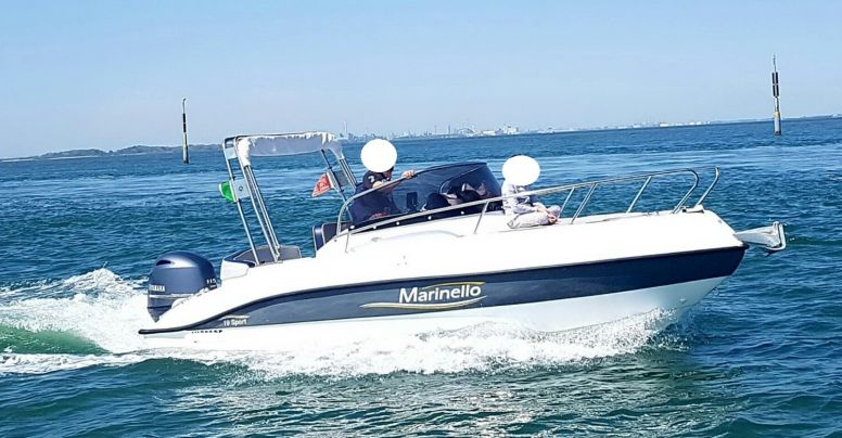Marinello 19 Sport Cabin Usato + Yamaha F40 HETL Usato