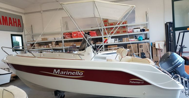 Occasione Open Marinello 17 Fisherman + Yamaha F 40/60