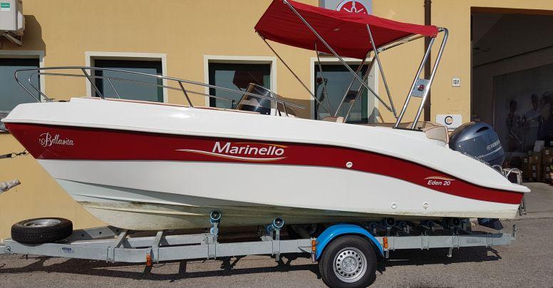 Occasione Barca open Marinello 20 Eden + Yamaha F 115