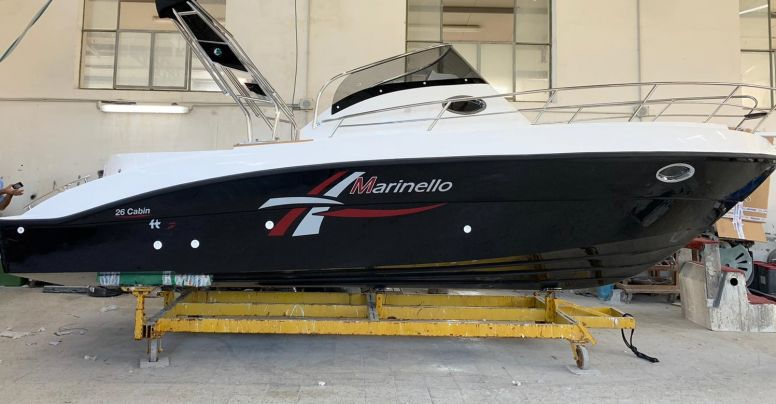 Marinello 26 Cabin Walkaround PRESTIGE