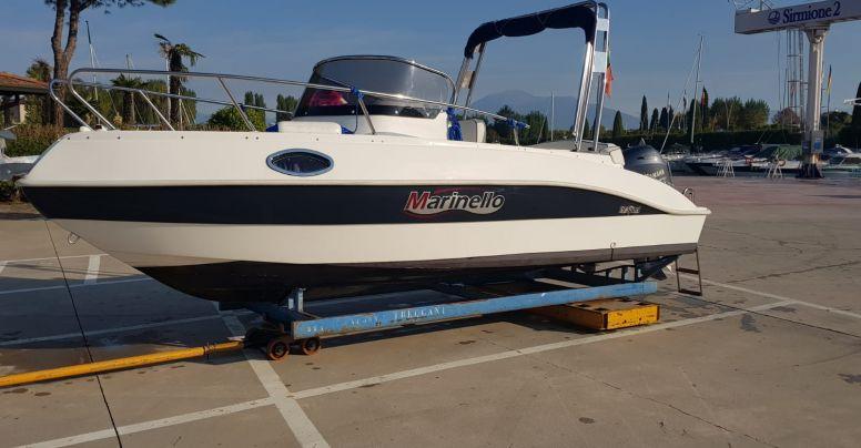 Marinello 19 Sport Cabin Usato + Yamaha F40 GETL Supreme Senza Patente