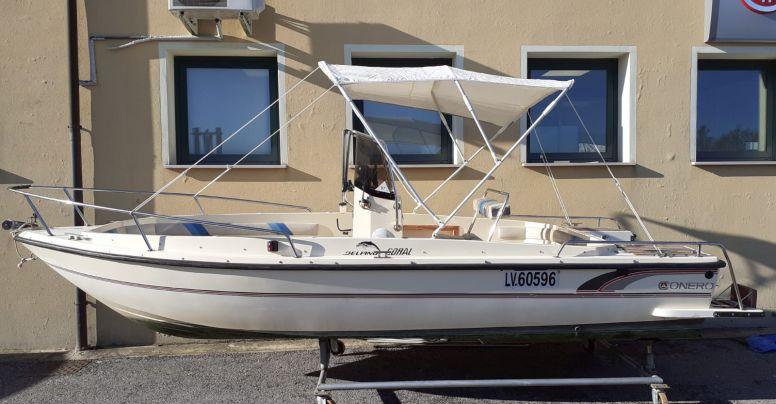 Barca Open Conero Delfino + Honda BF 40 4 tempi