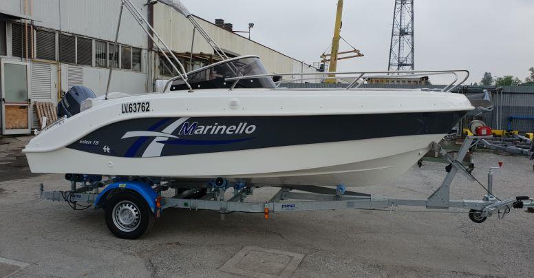 Marinello 18 Eden Grey Line + Yamaha F40 HETL