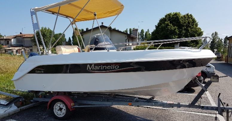 Marinello 18 Eden Luxury Edition + Yamaha F40 HETL