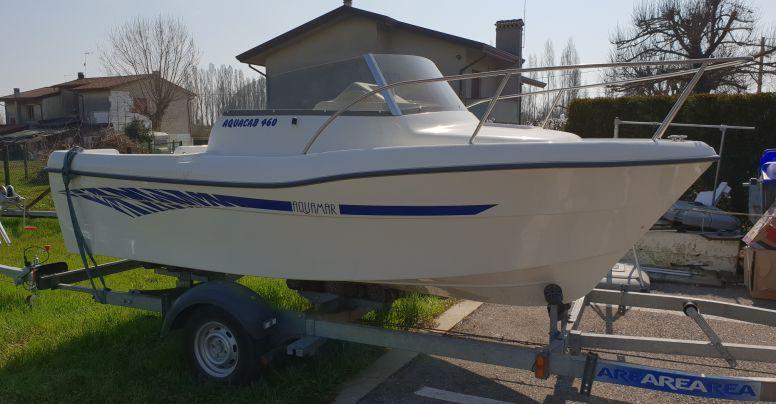 OCCASIONE Barca Cabinato Pesca Aquamar 460