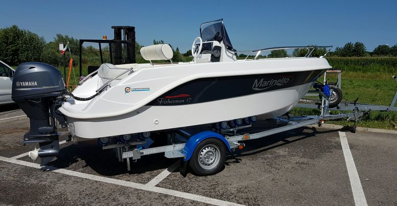 OCCASIONE Marinello 17 open + Yamaha F40 HETL