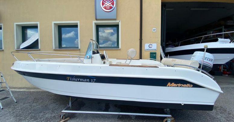 Usato Marinello 17 Fisherman Senza Patente + Selva F40 4T