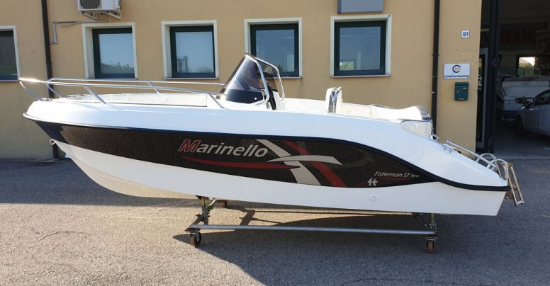 Marinello Fisherman 17 Open + Yamaha F40 HETL
