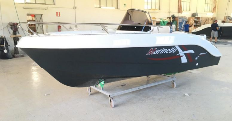 Marinello 17 Open Luxury Line + Yamaha F40 HETL