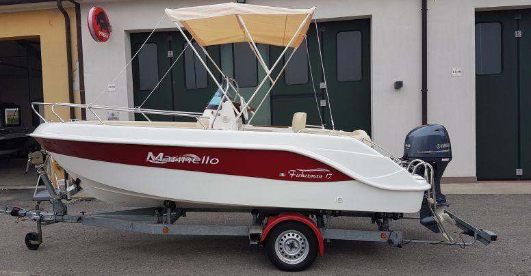 Usato Marinello 17 Fisherman Senza Patente + Yamaha F40 H