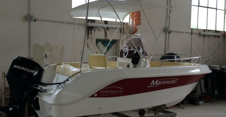 Marinello 16 Fisherman Open Line